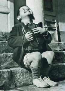 boy with new pair of shoes_overjoyed