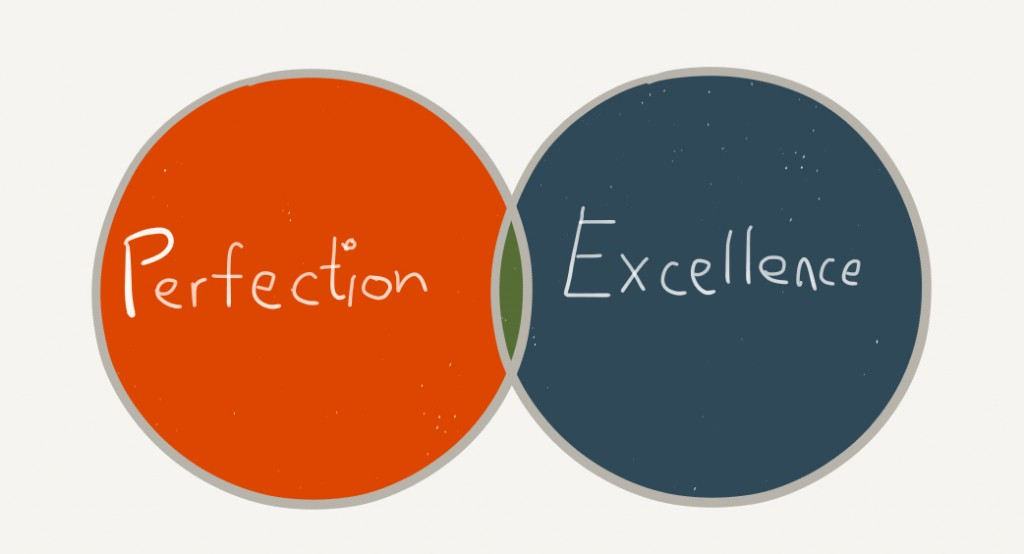 the pursuit of perfection vs the pursuit of excellence