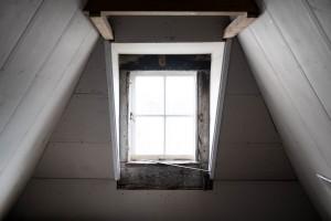 Attic window