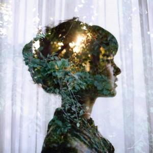 Girl in the woods Michelle Karpman