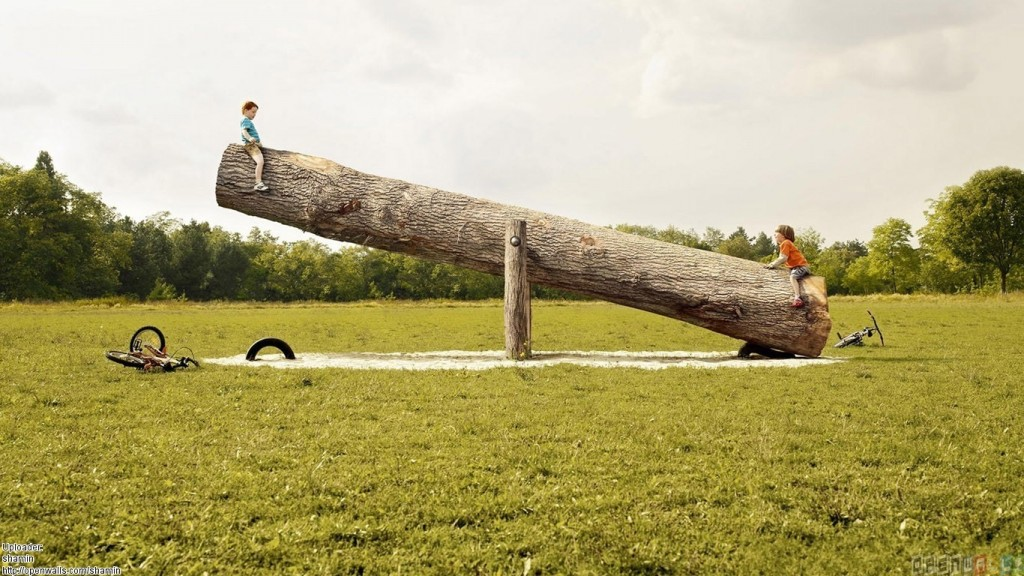 See-Saw (big trunk)