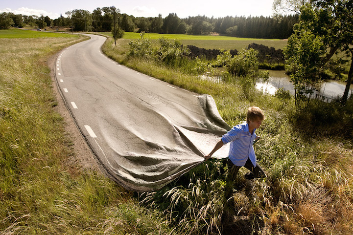 Go your own road Erik Johansson