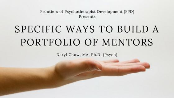 Specific Ways to Build a Portfolio of Mentors